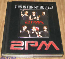 2PM 2 PM THIS IS FOR MY HOTTEST PHOTOBOOK PHOTO BOOK + DVD + POSTCARD SET SEALED