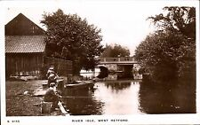 West Retford. River Idle # S 8155 by WHS Kingsway. Boys Fishing.