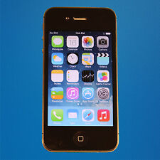 Good - Apple iPhone 4s 8GB - Black (CBeyond) Touchscreen Smartphone - Free Ship