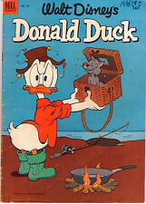 Donald Duck #29 - Carl Barks Fishing Cover - 1953 (Grade 4.0) WH