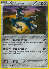 Pokemon Legendary Treasures Cobalion #91 Holo Rare Card