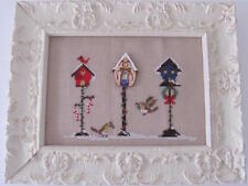 10% Off Mani di Donna Counted X-stitch chart - Christmas Birdhouse