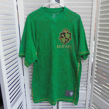 Red Ape Mens T-shirt  XXL 2XL New Green Embroidered Urban Gold Embellished RAC