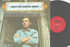 JERRY LEE LEWIS~ Sings The Country Music Hall Of Fame Hits Vol. Smash SRS 67118