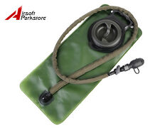 Tactical Military Hiking 2.5L Hydration Water Bladder Pack Pouch with Switch OD