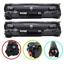 2PK High Yield Black Toner CE278A Set For HP P1606dn M1536dnf P1560 P1566 MFP