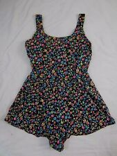 Palisades Beach Club Womens 38 Floral One Piece Bathing Suit Swimsuit CB20H