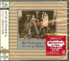 RICK WAKEMAN-THE SIX WIVES OF HENRY 8-JAPAN  SHM-CD D50