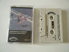 JEFFERSON STARSHIP FREEDOM AT POINT ZERO CASSETTE TAPE GRUNT USA 1979