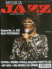 JAZZ 8 1996 Ella Fitzgerald Myra Melford Hal Russell Willis Conover Abercrombie