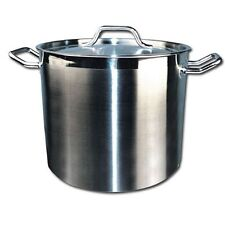 Winware Stainless Steel 16 Quart Stock Pot with Cover