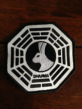 "LOST TV Series Dharma LOOKING GLASS 4"" Embroidered Patch"