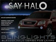 2007 08 09 10 11 12 GMC Acadia Halo Fog Lamp Angel Eye Driving Light Kit+Harness