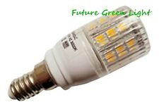 E14 SES 24 SMD LED 240V 3.8W 370LM WHITE BULB WITH COVER ~50W