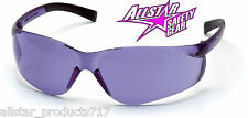 PYRAMEX WOMENS ZTEK PURPLE HAZE LENS SAFETY GLASSES SHOOTING MOTORCYCLE S2565S