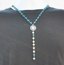 ITALY JERSEY NECKLACE, Italia Jersey Logo Crest Necklace World Cup NEW