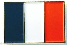 France Enamel Gold Plated Pin Badge French Tricolour Flag (France Tricolore)