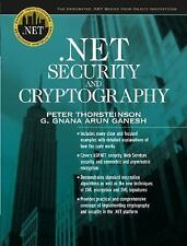 .NET Security and Cryptography, Ganesh, G. Gnana Arun, Thorsteinson, Peter, Acce