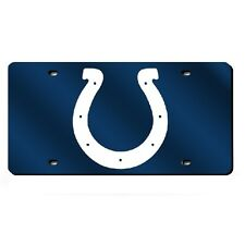 Indianapolis Colts Mirror License Plate - Silver