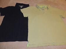 2 Crazy 8 Polo Shirts Boys Size Medium 7/8