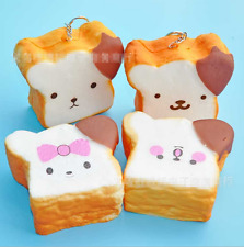 Giant Cute Rilakkuma Squishy Phone Strap Simulation Bread Scent Toast Gift