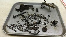 1972 suzuki tc125 enduro S278-5~ misc hardware nuts bolts ect