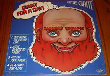 GENTLE GIANT GIANT FOR A DAY ORIGINAL LP STILL IN SHRINK!
