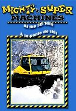 Mighty Machines/Super Machines/At The Ski Hill (BRAND NEW DVD)ENGLISH&FRENCH