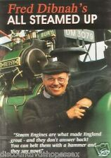 Fred Dibnah's All Steamed Up (DVD) NEW ITEM