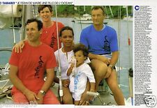 Coupure de Presse Clipping 1987 (2 pages) Eric Tabarly