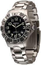 Zeno Watch Basel Diver orologio subacqueo con Ronda-Quarzo di