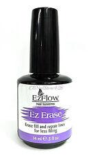 EZFlow Nail Essential- EZ ERASE 0.5oz -erase fill lines on acrylics,wraps,gel...