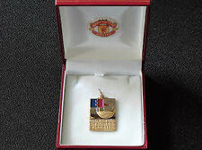 Manchester united 1968 european cup winners médaille-c/w box & crest