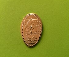 Disney Pressed Penny Mickey Wearing Large Mexican Sombrero