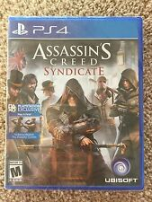Assassin's Creed Syndicate PS4 New Factory Sealed w Disc No Tax w Tracking