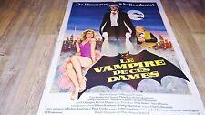 LE VAMPIRE DE CES DAMES ! affiche cinema 1979