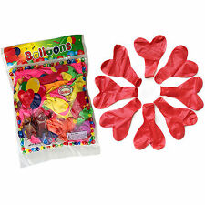 10pcs Pearl Latex 10 Inches Red Heart Balloons Celebration Wedding Party