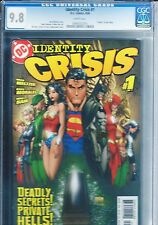 IDENTITY CRISIS #1 CGC 9.8 MICHAEL TURNER COVER DYNAMIC FORCES