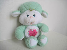 "13"" Vintage Care Bears Cousins ~GENTLE HEART LAMB Plush Stuffed Animal"