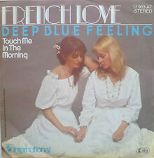 """7"""" 1978 RARE IN MINT- ! FRENCH LOVE : Deep Blue Feeling"""