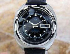 Seiko 5 Sports Black Dial Vintage Rare Stainless Steel Automatic Watch 60 Scx165
