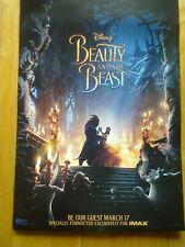DISNEY BEAUTY AND THE BEAST - NEW 2017 13x20 PROMO MOVIE POSTER - Emma Watson