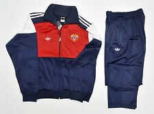 Adidas tracksuit new vintage retro old school pants jacket 80 cccp ussr. L - XL