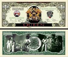 QUEEN - BILLET 1 MILLION DOLLAR US ! Collection FREDDIE MERCURY BRIAN MAY freddy