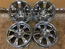 "20"" 20 inch Chrome Cadillac Escalade Chevy Tahoe Wheels Rims 4set 4-set"