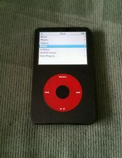 Apple iPod Classic U2 Special Edition Black/Red 30GB A Condition! 5th Generation