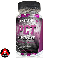 Extreme Labs PCT Post Cycle Testosterone 90caps Therapy Suppresses Estrogen