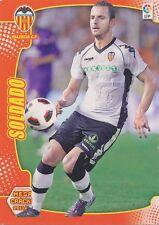 N°323 ROBERTO SOLDADO # VALENCIA.CF CARD PANINI MEGA CRACKS LIGA 2012