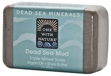 One With Nature Soap Dead Sea Mud 7 oz (12-Pack)
