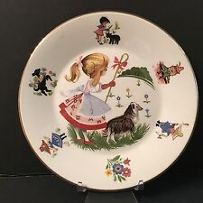Arklow Child's Nursery Rhyme Plate Made in Republic of Ireland